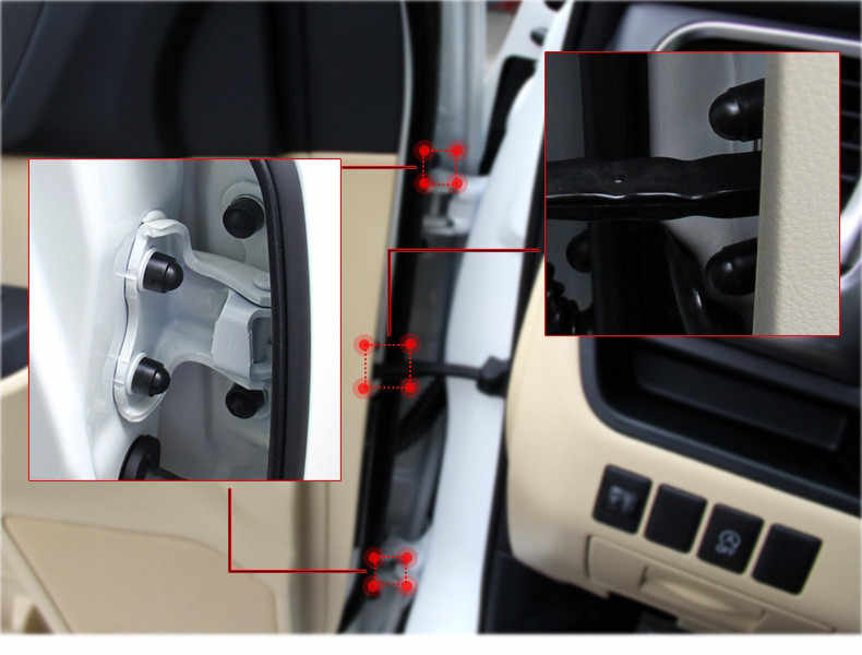 16 шт. аксессуары для салона автомобиля Универсальный Авто винт Защитная крышка для Suzuki SX4 SWIFT Alto Liane Grand Vitara Jimny S-Cross