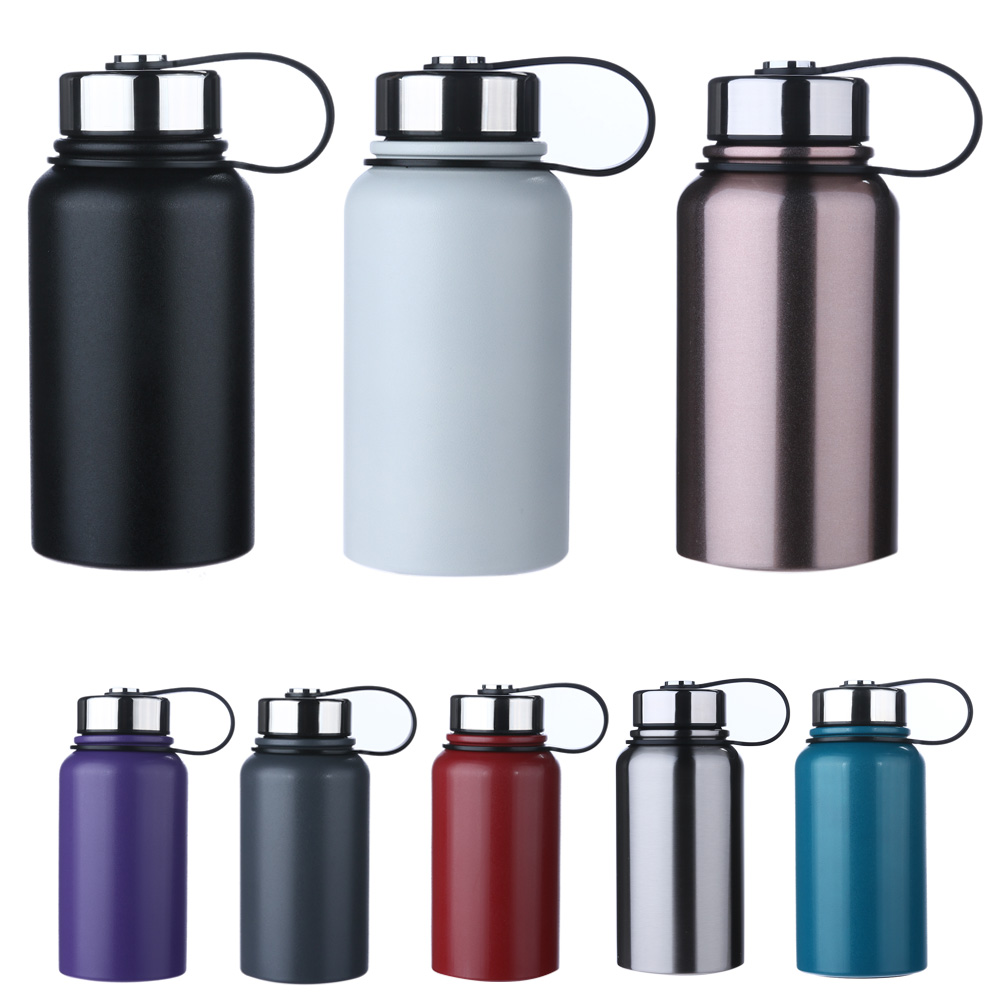 600ml 304 Stainless Steel Vacuum Cup Outdoor Vehicle mounted Water Cup Bottle for Outdoor Cycling Camping