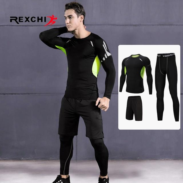 3 Pcs Men Sports Suit Set