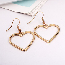 Japanese Heart Drop Earrings