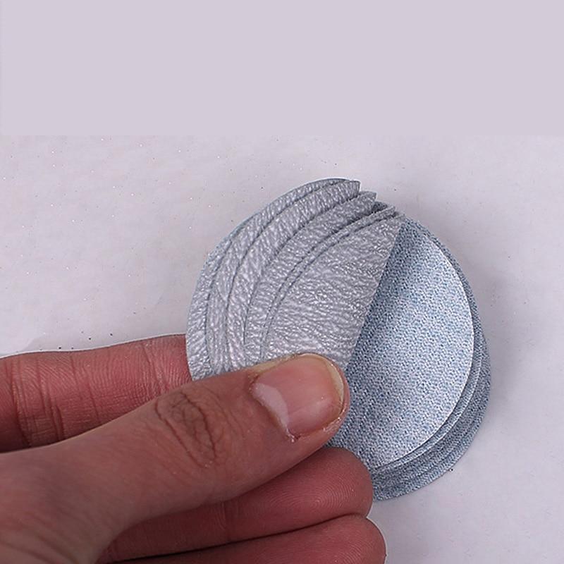 20 pezzi 2 pollici 49 mm floccaggio carta abrasiva a secco - Utensili abrasivi - Fotografia 4