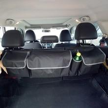 NEW Car Trunk Organizer Sedile Posteriore Sacchetto di Immagazzinaggio di Alta Capacità Multi-uso del Panno di Oxford Auto Sedile Posteriore Organizzatori Accessori Interni