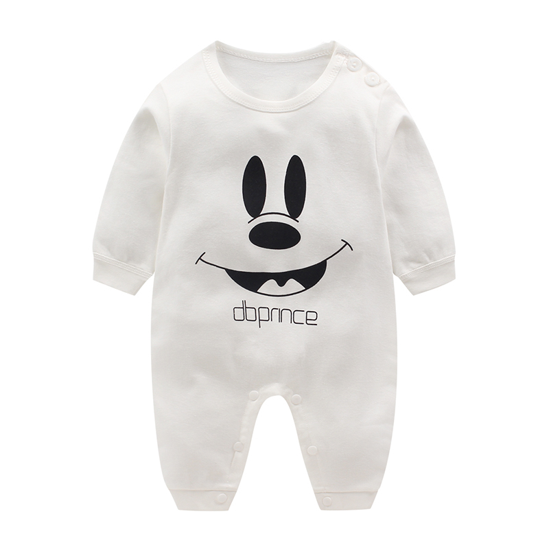 HTB1OBg.uKuSBuNjSsziq6zq8pXaH Newborn baby clothes 100% Cotton Long Sleeve Spring Autumn Baby Rompers Soft Infant Clothing toddler baby boy girl jumpsuits