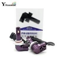 Yituancar 2X 35W LED Car Headlight Bulb Styling Source Built in Fan IP67 DC11 30V H1 H3 H7 H11 H13 9005 9006 Front Fog Lamp Beam