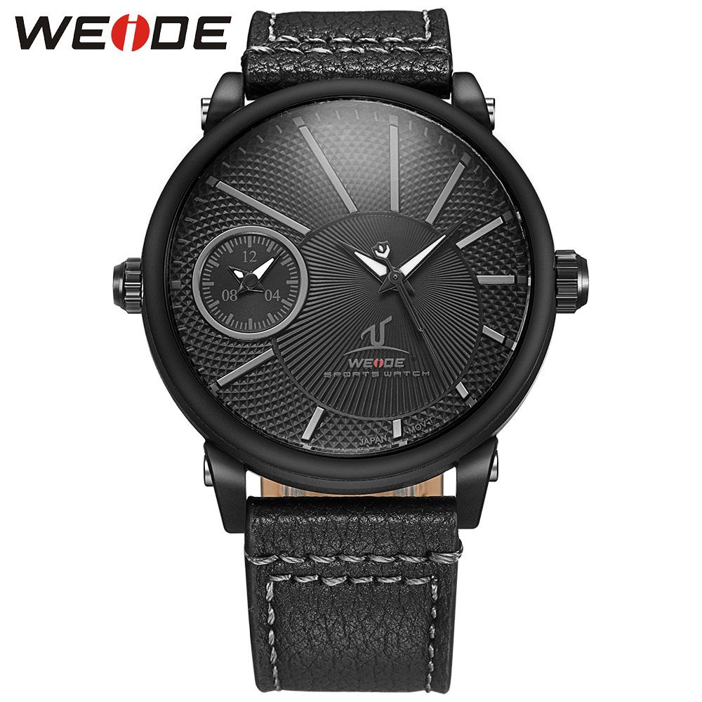 New Brand WEIDE Mens Watches Luxury Fashion Casual Sports Military Wristwatches Japan Quartz Watch Analog Men Relogio Masculino 2014 new arrival fashion men sports dual movement analog watches military quartz luxury fashion brand led watch 30m waterproofed oversize wristwatch red