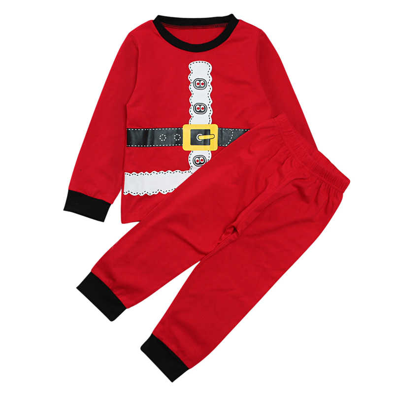 5229da014f 2018 New Arrival Winter Christmas Santa Claus Snowman Pajamas Set Kids 2-7  yrs Boy