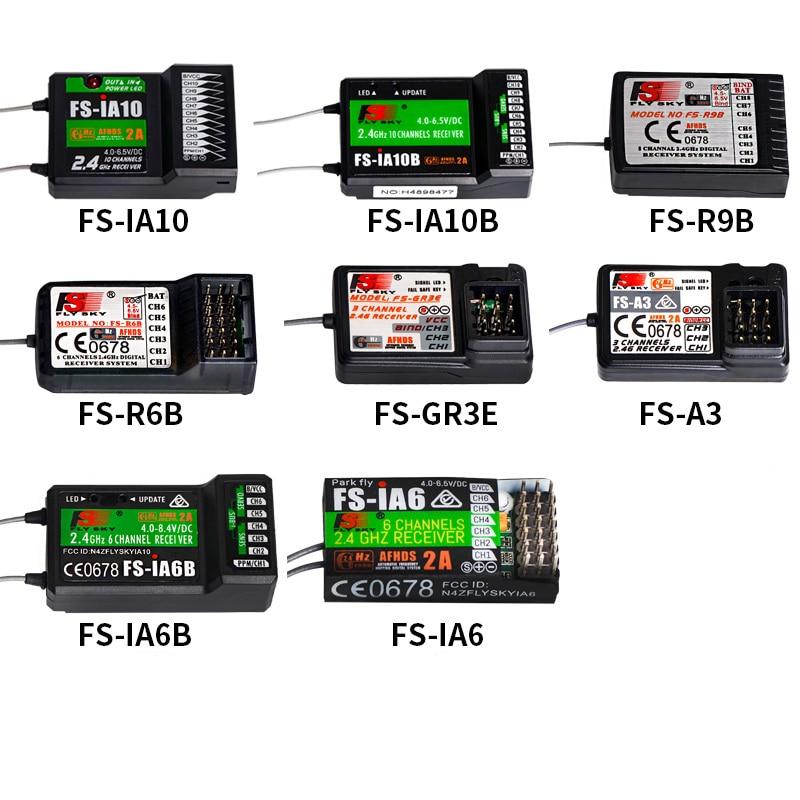 1PC 2.4G Flysky FS-iA6 iA6B iA10B Remote Control Receiver 10CH 8CH 6CH 3CH GT3B R6B R9B A3 Receiver Module for RC Multi-copter new 3ch 2 4ghz gfsk3ch flysky fs gr3c gr3c gt2 gt3b failsafe receiver for auto rc ship gt3b for remote control toys
