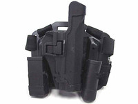 tactical gun holster CQC SIG P220/P226 RH Drop Leg Holster w/ Mag&Light Case