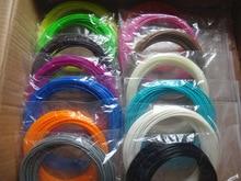 22 цвета или 20 цветов или 10 Цвет/комплект 3D Ручка накаливания ABS/PLA 1.75 мм Пластик резиновые печати материал для 3D-принтеры ручка нити