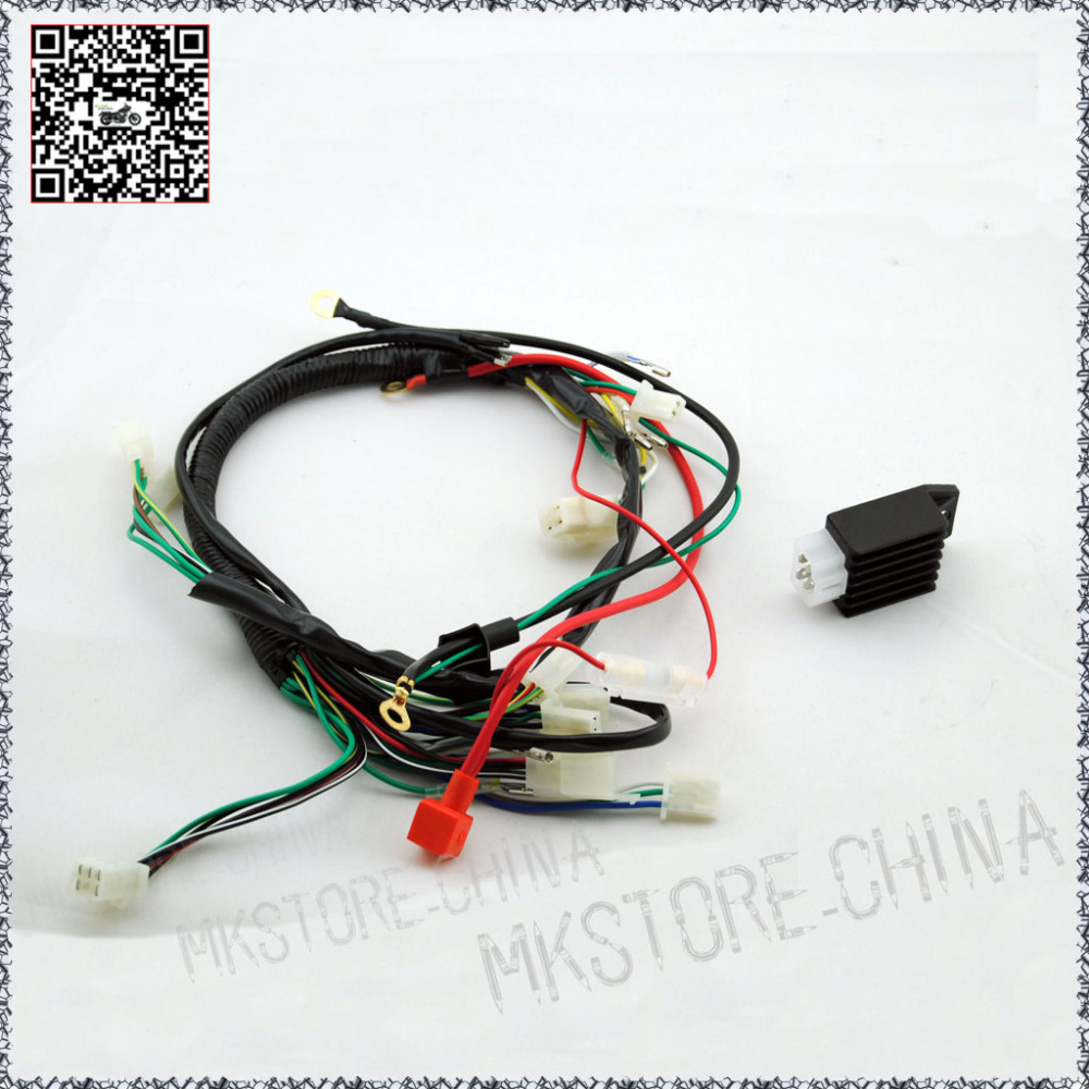 Back To Search Resultsautomobiles & Motorcycles Dependable 110cc+switch Quad Electrics Zongshen Lifan Ducar Razor Cdi Coil Wire Harness Free Shipping Atv,rv,boat & Other Vehicle