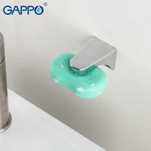 GAPPO Магнитная мыльница настенный душ пластик мыльница Контейнер Диспенсер настенное крепление адгезия мыло держатель