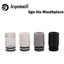 5 sztuk partia oryginalny ustnik spiralny Joyetech eGo AIO kompatybilny z zestawem eGo AIO tanie tanio eGo AIO Spiral Mouthpiece eGo AIO Kit Z tworzywa sztucznego Drip Tip Cap Black White Gray Clear 10pcs