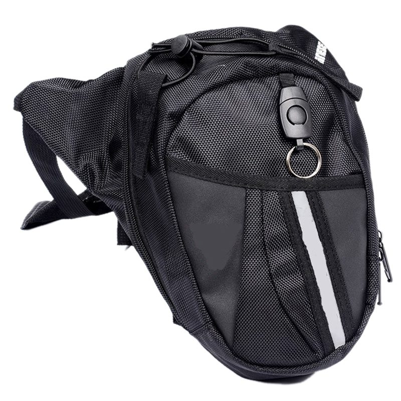 New Motorcycle Scooter Drop Leg Waist Bag Pack