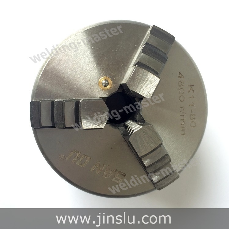 Self-centering Manual 3 jaw Lathe Chuck K11-200 3 jaw lathe chuck k11 125 125mm manual self centering m8 for welding positioner turntable bench top lathe accessories