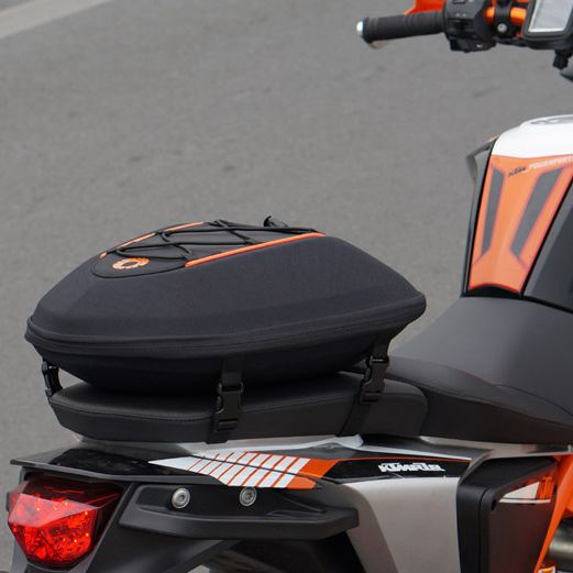how-yes NEW hot sale motorcycle bag Motorcycle Tail Boxes, Racing Pack saddle bag have rain cover can waterproof red black motorcycle tail bag saddle bag luggage suitcase around motorcycle waterproof cover bag can put down helmet