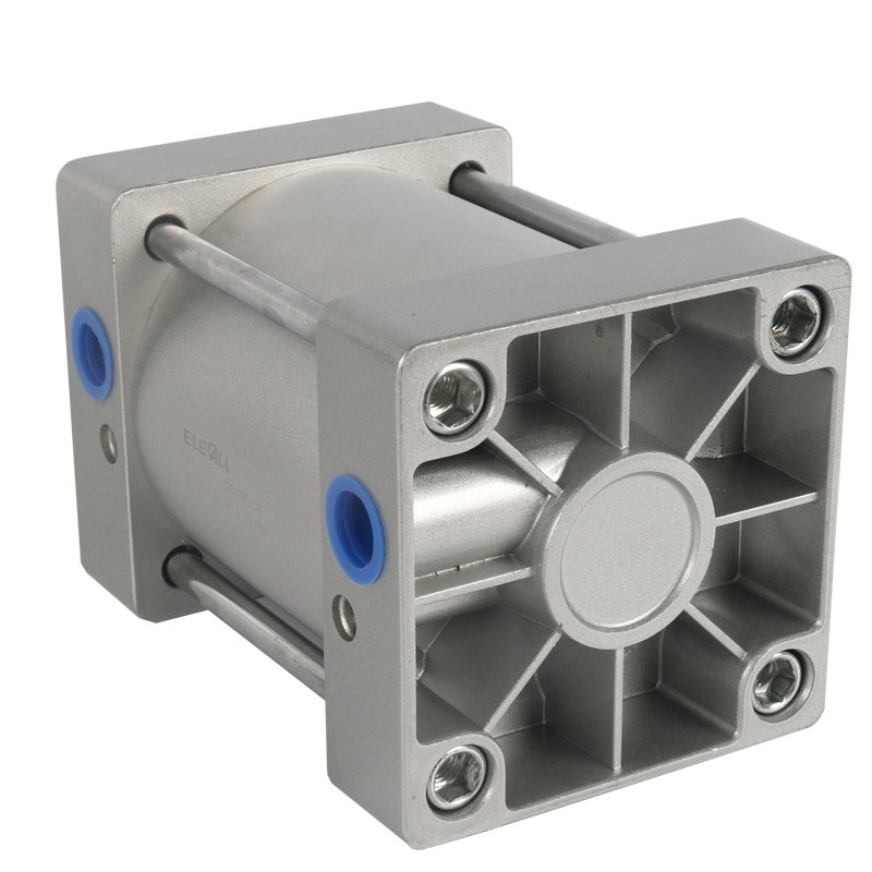 SC100*25 /100mm Bore 25mm Stroke Compact Double Acting Pneumatic Air Cylinder high quality double acting pneumatic gripper mhy2 25d smc type 180 degree angular style air cylinder aluminium clamps