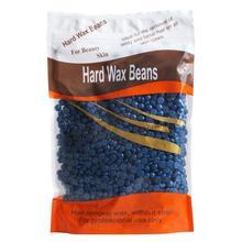Фотография 1PC No Strip Depilatory Hot Film Hard Wax Pellet Waxing Bikini Hair Removal Bean Navy wholesale Dec 15