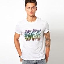 Hot Cheap animal Men T-shirt spaceman T Shirts Print Funny Top Tees Short Sleeve Camisetas Summer Tshirt Plus Size S-3XL