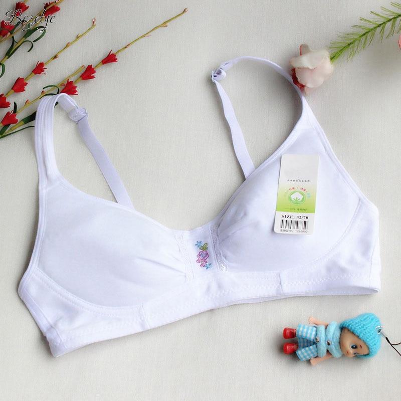 Mädchen Unterwäsche BH Baumwolle Unterwäsche für Mädchen Spitze - Kinderkleidung - Foto 2