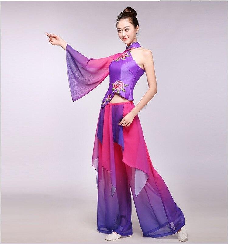 598b38674 2016 New Classical Folk Dance Costume Yangko Dance Clothing Chinese ...