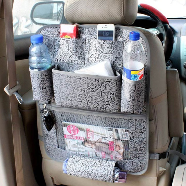 LUNDA Car Storage Bags Back Seat Covers Protector For Children Kick Mats