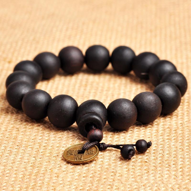 Buddhist Tibetan Decor Prayer beads Natural Handmade Bracelet Bangle - Fashion Jewelry - Photo 6