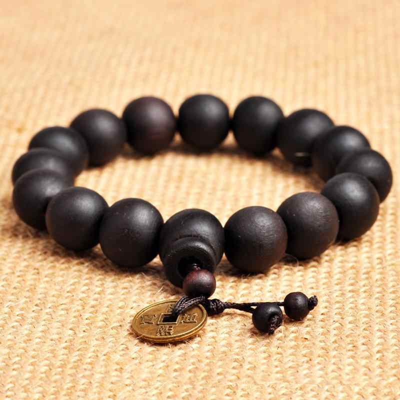 0c2e60c2bc ... Buddhist Tibetan Decor Prayer beads Natural Handmade Bracelet Bangle  Wrist Ornament Wood Buddha Beads Women Men