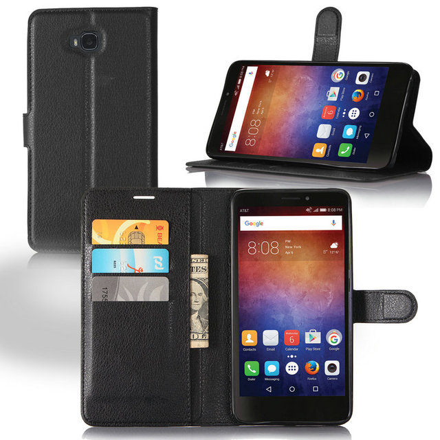 "For Huawei Ascend XT H1611 6"" Wallet Flip Leather Case For Huawei Ascend XT phone Back Cover case shell with Stand Etui Coque>"