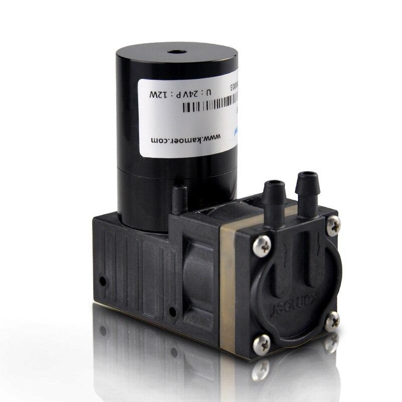 Kamoer 12 В/24 В KZP постоянный ток диафрагма вакуумный насос (щеткой/бесщеточный двигатель постоянного тока положительное давление воздушный нас
