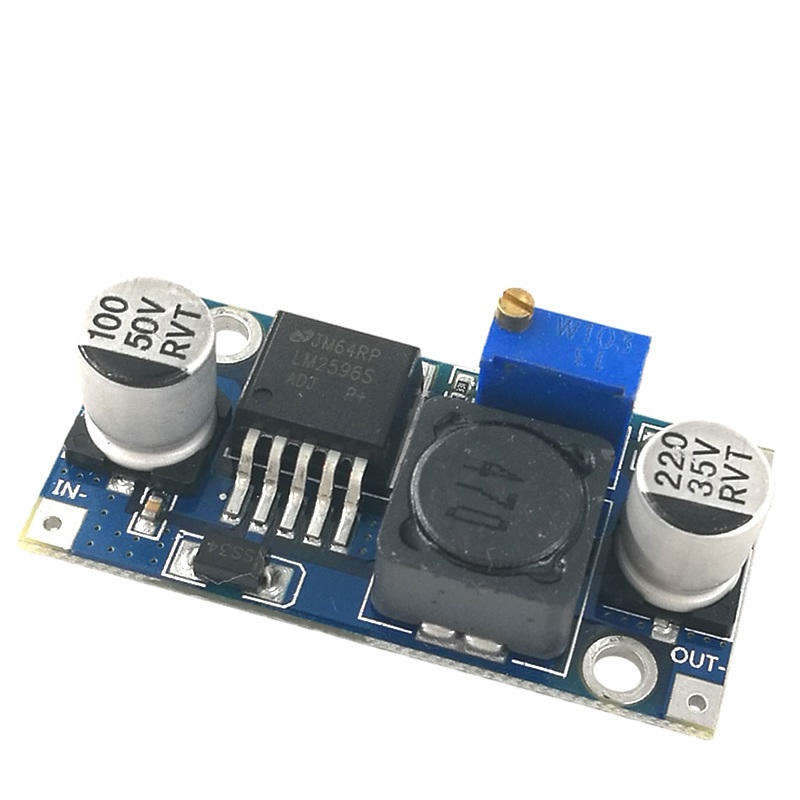 MCIGICM 100pcs DC DC Step Down Converter Module LM2596 DC 4 0 40 to 1 3