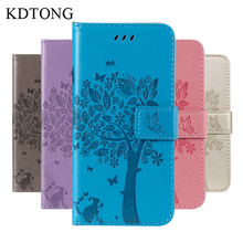 KDTONG Case sFor Samsung Galaxy J4 Core Fashion Flip Leather Wallet Card Slot Cover For Phone Bags