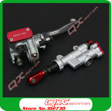 High Quality Brake master cylinder pump For CR125 CR250 CRF250 CRF450 X R Xmotos Kayo T4 T6 Dirt Bike Parts Motocross Off Road  front disc disk brake pump caliper for honda cr125 cr250 crf250 crf450 x r brake caliper with carbon fiber pads