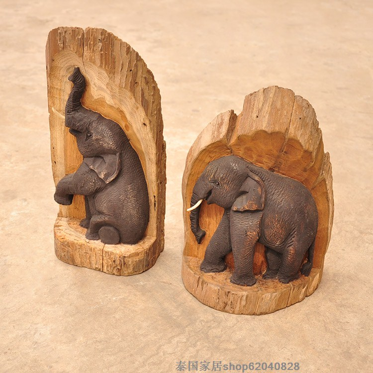 Online buy wholesale elephant wood carving from china