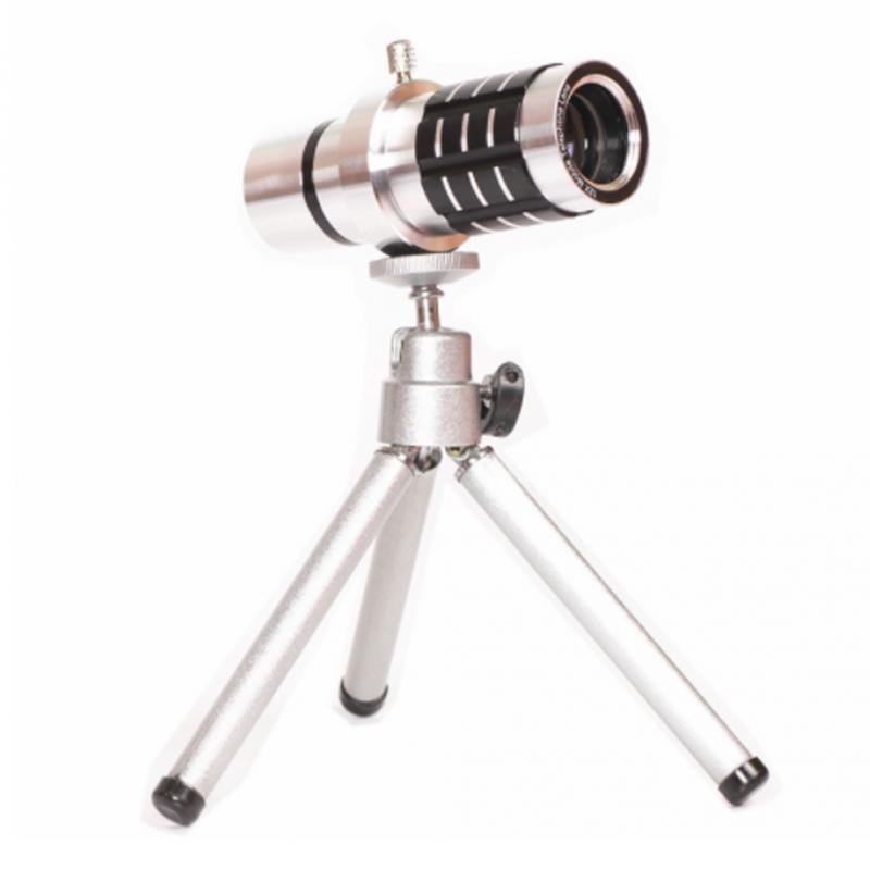Universal 12X Zoom Camera Telephoto Telescope Lens With