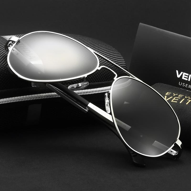 VEITHDIA Polarized mens sunglasses brand designer Aluminum Magnesium Alloy Men Driving Glasses Sun Glasses Eyewear male shades
