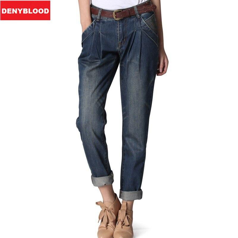 Popular Dark Wash Boyfriend Jeans-Buy Cheap Dark Wash Boyfriend ...