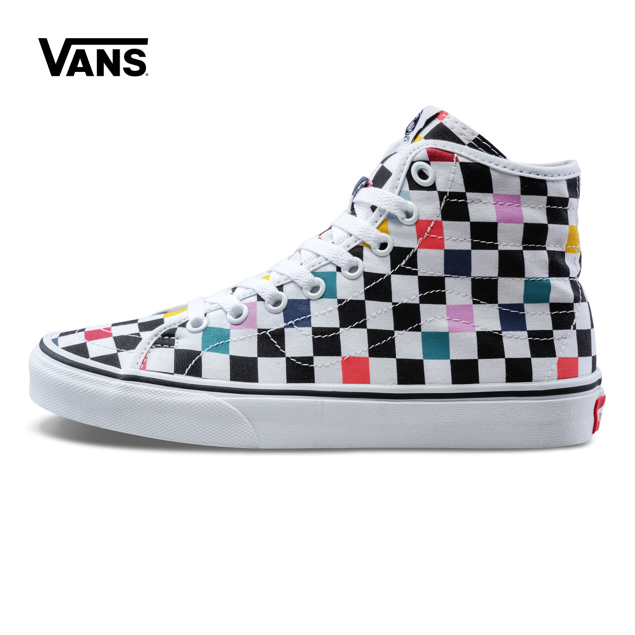 1487e9ed09 Original New Arrival Vans Womens Classic SK8-Hi Decon Skateboarding Shoes  Sneakers Canvas Comfortable Sport Outdoor Good Quality
