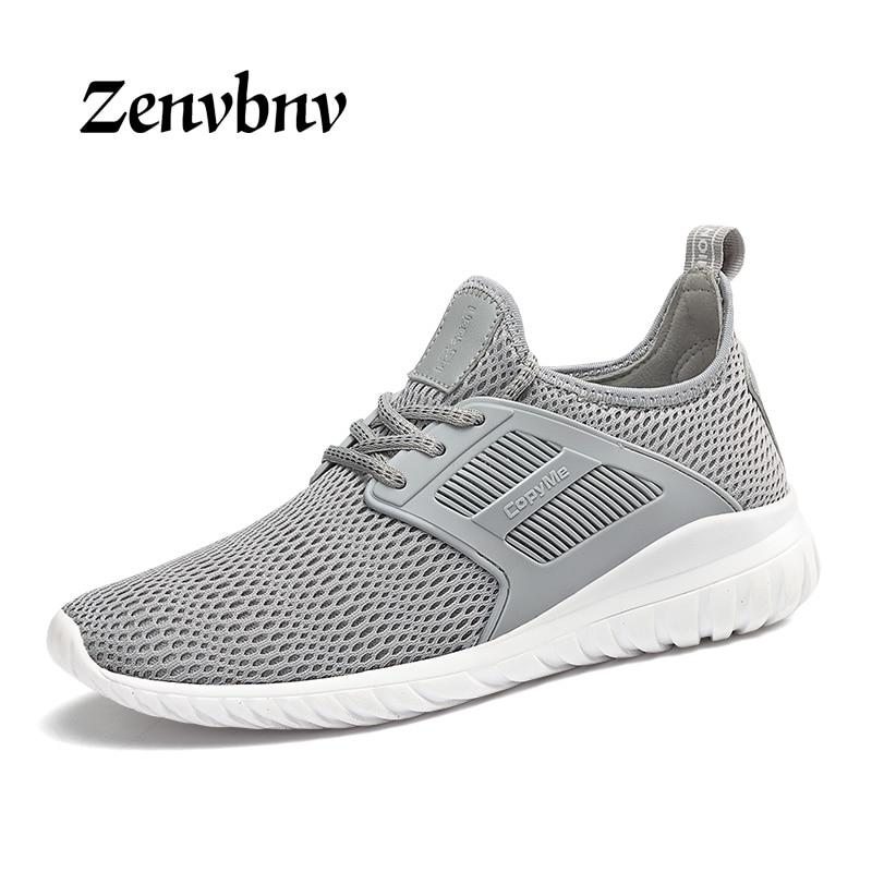 ZENVBNV 2018 Lightweight summer outdoor sports shoes men sneakers comfortable men shoes jogging mesh tennis running shoes men