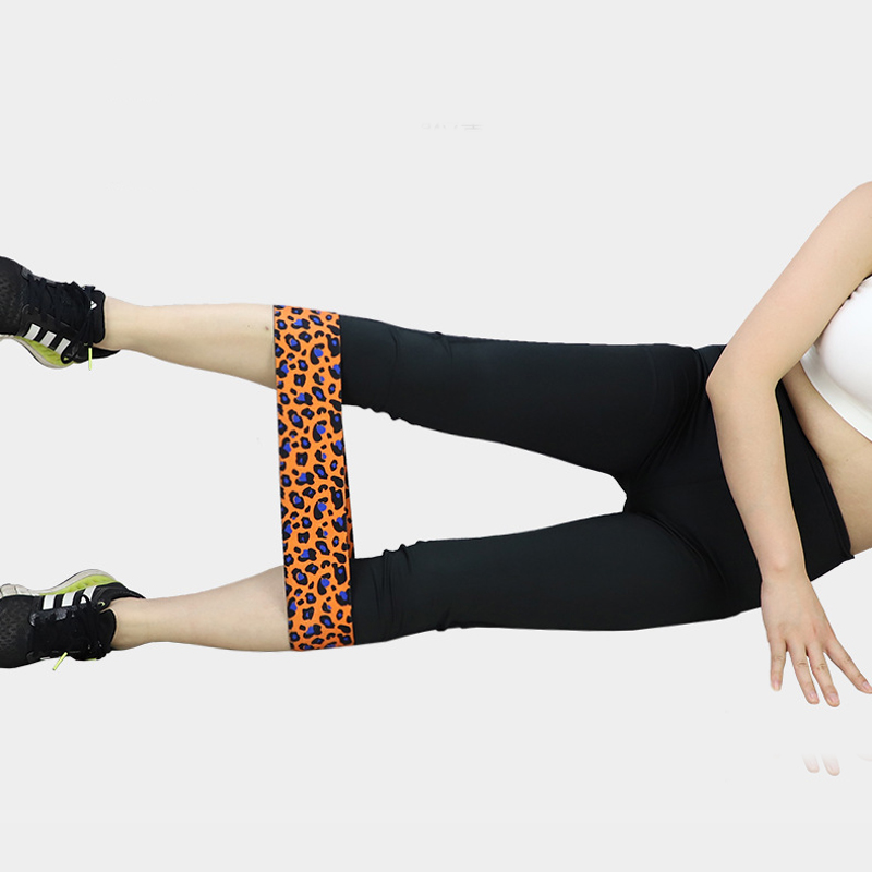 Ispisane leopardove trake za otpor kuka elastične trake za - Fitness i bodybuilding - Foto 4