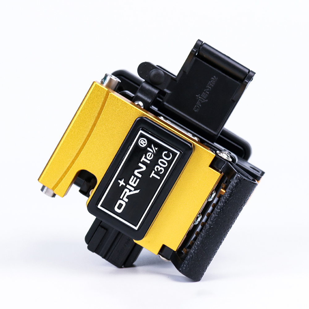 Free Shipping! Manufacturer Orientek T30C Optical Fiber Cleaver with 48000 cleavers Blade Life Clivador de fibra Optica