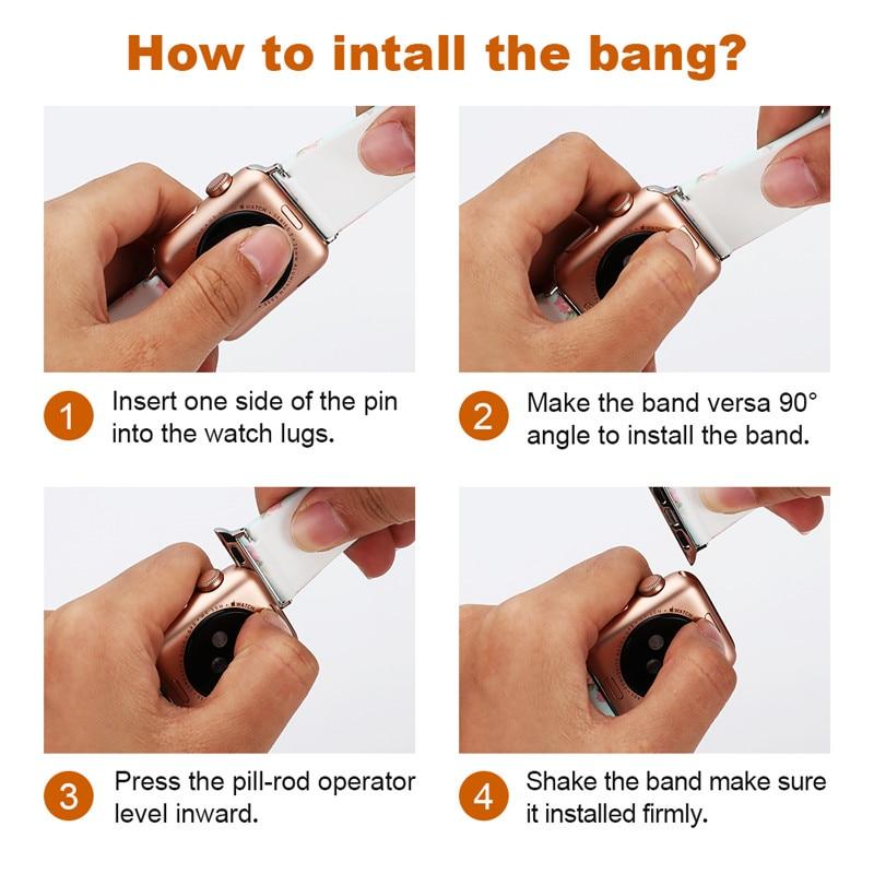watch straps install