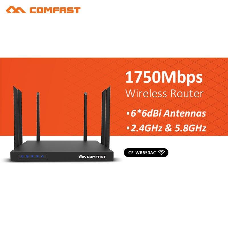 Routeur sans fil haute puissance Gigabit 5G double bande 1750 Mbps studio de jeu mobile fibre AP haut débit WIFI esports commerciaux