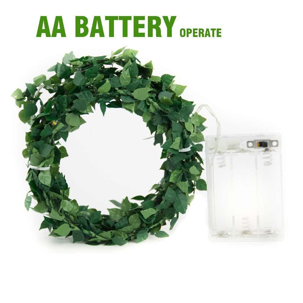2 м, 5 м, 10 м, уличный светодиодный феи с петлей, с батареей, работает для деревенской Праздничная Свадебная вечеринка, украшение для мероприятий