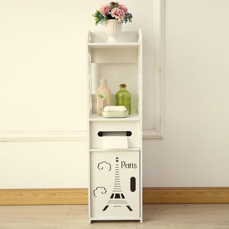 Achat Fixé Au Sol De Stockage Cabinet Coin Salle Bains ...