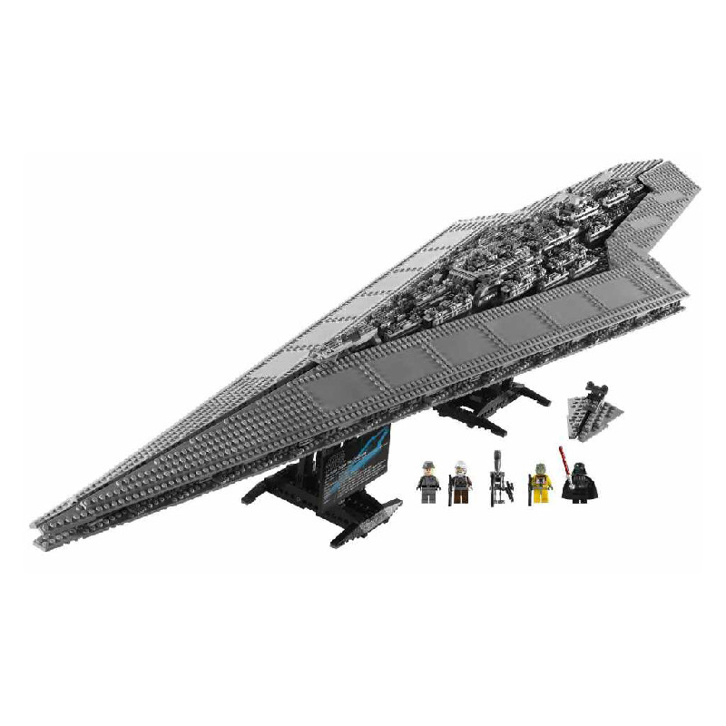 LEPIN  Star Bricks Wars  05028 Imperial Executor Super Star Destroyer Model  building Blocks Educational Toys for Children  Gift lepin 05028 3208pcs star wars building blocks imperial star destroyer model action bricks toys compatible legoed 75055