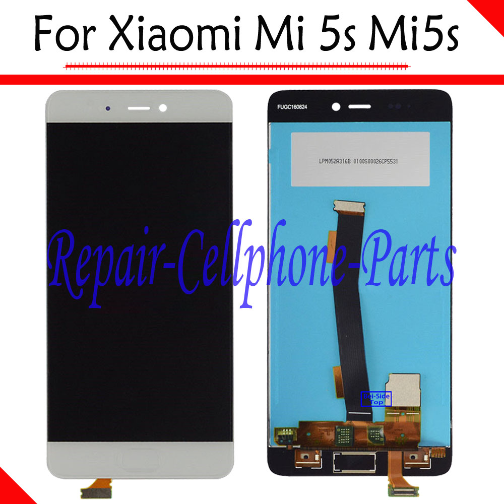 Blanc nouveau plein écran LCD + écran tactile numériseur assemblée remplacement pour Xiao mi 5 s mi 5 s numéro de suivi