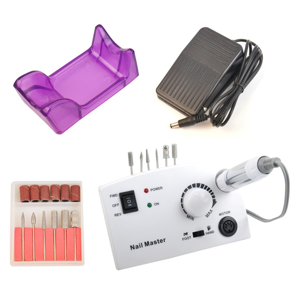 Pro Nail Polish Remover Machine 110-240V 30000RPM White Electric Nail Gel Removal Tool Set Nail Art Manicure Kit leopard hobby lbp4082 lbp4282 brushless inrunner 4082 4282 2000kv 1600kv 4 pole motor for rc car boat