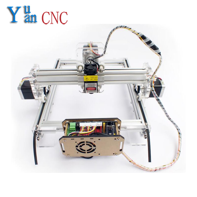 2125 DIY Laser Engraving CNC machine, mark cutting machine, mini-plotter Wood Router V5 control system  цены