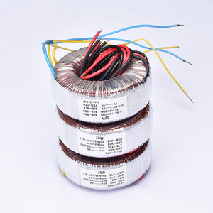 Image 5 - Kyyslb Home Audio 30W Pure Koperdraad Ring Vee Versterker Transformator Dubbele 15V Dual 12V Dubbele 9V Drie Specificaties