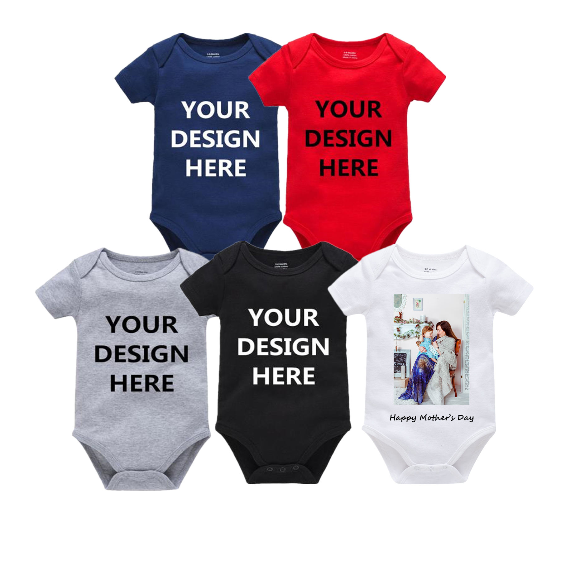 Bling Bling Ribbon Breast Cancer Awareness Unisex Toddler Baby 2-Piece Short-Sleeve Bodysuit Baby T-Shirt Set